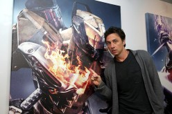 'In Dubious Battle' actor Zach Braff visits the 'Destiny' booth during E3 2015 at Los Angeles Convention Center on June 17, 2015 in Los Angeles, California.