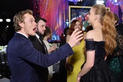 Alfie Allen, John Bradley, Hannah Murray and Sophie Turner attend The 22nd Annual Screen Actors Guild Awards at The Shrine Auditorium on Jan. 30, 2016 in Los Angeles, California.