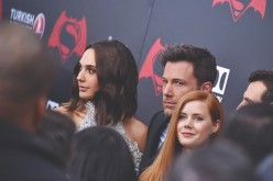 Gal Gadot, Amy Adams and Ben Affleck attend The 'Batman V Superman: Dawn Of Justice' New York Premiere at Radio City Music Hall on March 20, 2016 in New York City.