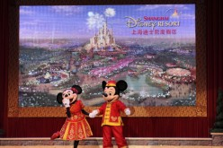 Shanghai Disneyland opens on June 16.
