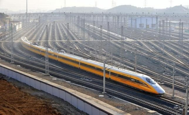 China claims that its abroad-based railway projects are proceeding well.