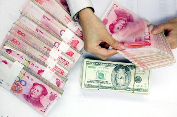 China's foreign exchange reserves increased by $10.28 billion in March, a first in five months.