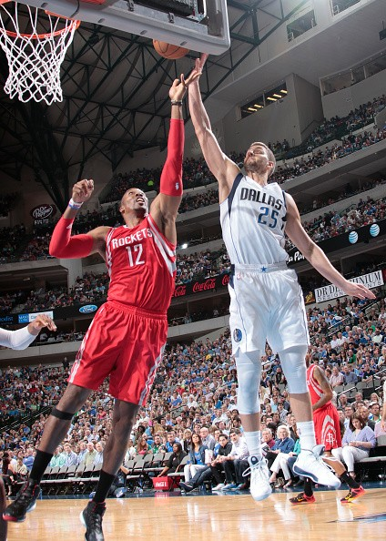 Chandler Parsons and Dwight Howard