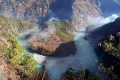 The Nu, a UNESCO-designated World Heritage Site, is China's remaining undamned river that flows through Yunnan Province.