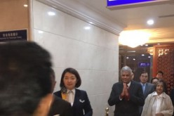 Sri Lankan Prime Minister Ranil Wickremesinghe upon his arrival in China for a three-day state visit.