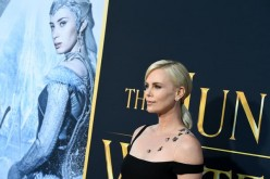 Charlize Theron arrives in Los Angeles Monday for the premiere of