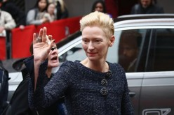 Tilda Swinton portrays the male character of the Ancient One in