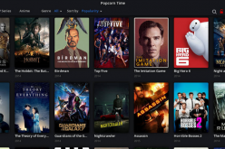 Numerous movies can be found in Popcorn Time's movie gallery.