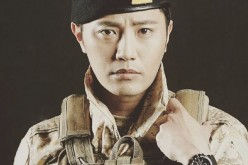 South Korean actor Jin Goo plays the character of Sergeant Major Seo Dae Young (aka Wolf) in KBS2's 'Descendants of the Sun.