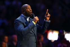 Magic Johnson talks about Kobe Bryant during NBA All-Star Game 2016.